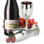 Stainless Steel Wine Glass Cup Goblet Champagne Glass