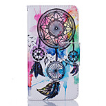 Dream Catcher Pattern PU Leather Full Body Case with Stand and Card Slot for Nokia Lumia 650/550