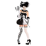 Costumes Ghost / Zombie / Vampires Halloween / Christmas / Carnival Vintage Dress / Gloves / Necklace