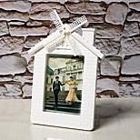 7-Inch Plastic Windmill Pastoral Creative Wedding Photo Frame Children Photo Frame Swing Sets