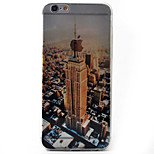 Skyscraper Pattern Material TPU Phone Case For iPhone 6s/6/6s Plus/6 Plus