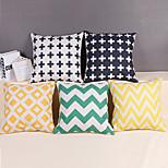 Modern Style Linen Pillow Case 17