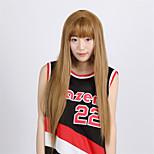 High Quality Japanese Anime Hair Wigs Irisviel von Einzbern light Brown Middle Part 70CM Long Straight Cosplay Wig