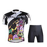 PALADIN® Cycling Jersey with Shorts Men's Short Sleeve BikeBreathable / Quick Dry / Ultraviolet Resistant / Reflective Strips / Back