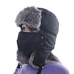 Chapka Hat / Fur Hat Ski Hat / Pollution Protection Mask Women's / Men's Thermal / Warm Snowboard PolyesterRed / Gray / Black / Light