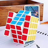 / Magic Cube 4*4*4 / Smooth Speed Cube Rainbow Plastic Toys