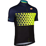 Sports Bike/Cycling Tops Men's Short Sleeve Breathable /Ultra Light Fabric LYCRA® / Terylene / CoolmaxClassic