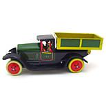 Dump Truck Wind-up Toy Leisure HobbyMetal Green For Kids