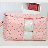 Cherry Quilt Receive Bag Wholesale And Large Size Collapsible Transparent Window Sorting Bags
