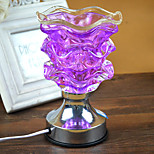 1PC Plugged Into Electricity Crystal  Touch-Sensitive  Essential Oils Fragrance Lamp Gift