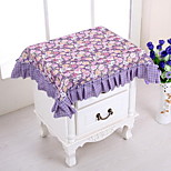 Purple Colocasia Korean Rural Multi-purpose Towel Bedside Table Cloth