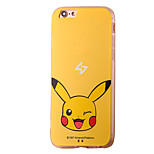 Pikaqiu Cartoon Pattern PC Material Phone Case for iPhone 5 5S 5E 6 6S 6 Plus 6S Plus