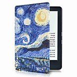 6 Inch Printing Pattern PU Leather Case with Sleep for New Kindle 2016(Kindle 558) (Assorted Colors)