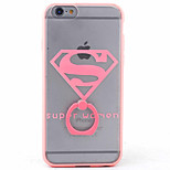 PC+TPU Material Frosted Diamond Mobile Phone Shell Relief Bracket for iPhone 6s/6/6s Plus/6 Plus
