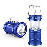 Jiawen utomhus tält infällbar USB sol camping lampa ledde lykta ljus för vandring nödsituationer