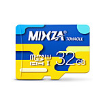 MIXZA 32 GB Class 10 Micro SD  TF Flash Memory Card High Speed Genuine Read Speed: 80MB/s Waterproof