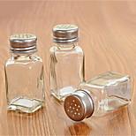 Glass Single Condiment Bottle Seasoning Bottle