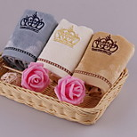 Shearing Crown Embroidered Towel Water Big Squares