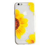 TPU Material Matte Embossed Pattern Sunflower Phone Case for iPhone 6/6s/6 Plus/6S Plus
