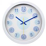 (Color al azar) de 10 pulgadas dormitorio estilo de personalidad del reloj de pared del reloj de cuarzo mudo sala de estar contemporánea y