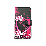 Heart Pattern PU Leather Full Body Case with Stand and Card Slot for LG K10/K8