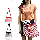 Cat / Dog Carrier & Travel Backpack / Sling Bag Pet Carrier Portable / Breathable Red / Blue Fabric