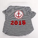 Gatti / Cani Costumi / T-shirt / Maglietta-Estate / Primavera/Autunno-Matrimonio / Cosplay / Halloween / Compleanno / Natale / Vacanze /