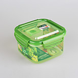 YOOYEE Brand 800ml Airtight Sealed Square Stackable Plastic Food Container with Lid