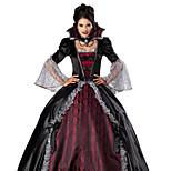 Costumes Ghost / Zombie / Vampires Halloween / Christmas / Carnival Red / Black Vintage Dress