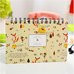 2016 New stationery Korea This Week Plans To Study The Efficiency Of This Notebook Notepad Schedule