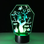 1st kontakt 3 d ledde färgrik syn lampa gåva atmosfär skrivbordslampa ändra färg nattlampa