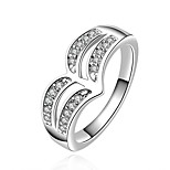 Xu™ Women's Diamonds 925 Silver Plated The Luxury And Vintage Ring(Color Preserving More Than A Year)