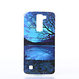 Scenery Pattern TPU Material Phone Case for LG K10/K7