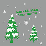 Christmas Window Sticker Contemporary , Art Deco 80*93.2CM