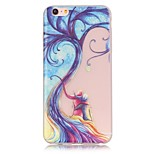 indietro Fosforescente Albero TPU Morbido Luminous Copertura di caso per Apple iPhone 6s Plus/6 Plus / iPhone 6s/6 / iPhone SE/5s/5