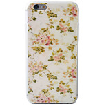 Flower Pattern Material TPU Phone Case For iPhone 6s/6/6s Plus/6 Plus