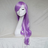 Cosplay Wig  Light Purple Color Cast Long Curly Hair Wig 30Inch Points