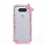 DIY Pink Bowknot Pattern PC Hard Case for Multiple LG G3 G4 G5 G5SE V10 K10 K7 K4