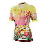 Miloto® Bike/Cycling Shirt / Sweatshirt / Jersey Women's Short SleeveBreathable / Moisture Permeability / Quick Dry
