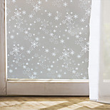 Window Film Window Decals Style Christmas Snowflake Matte PVC Window Film - (100 x 45)cm