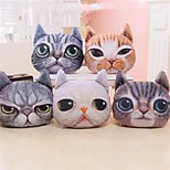 1 PC Modern Style Pillow with Insert 14 by 13 inch 3D Cat