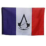 Assassin The Pirate  The French Republic Flag Cosplay 144CM
