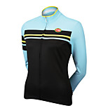 Sports Cycling Tops Women's Bike Breathable / Front Zipper / Wearable / Compression Long SleeveLYCRA® / Terylene /