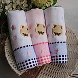 Cotton Cartoon Romance Bear Children Jacquard Towel