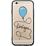 Love You Ballon Design Dustproof/Pattern Balloon Soft TPU Back Cover for iPhone 6s Plus/6 Plus/6s/6/SE/5s/5