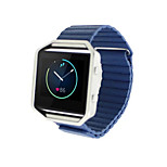 Brand New Magnetic closure Pop Leather Loop Watchband Strap for Fitbit Blaze Activity Tracker Smart Watch