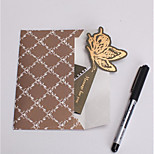 The New Fashion Creative Greeting Cards Gift Gilt Black Mini Greeting Card Generic Holiday Card Wishes -1414