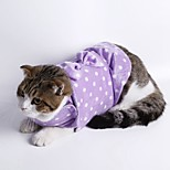 Multifunctional Blue Black Purple Green Pink Grey Keep Calm Warm Dog Clothes for Pets Dogs Spot Dots Bow Cat Clothes