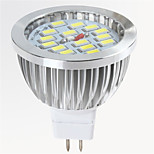 8W MR16 15X5730SMD Warm Cool White Color Light Bulb Led Spotlights(DC12V)