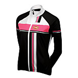 Sports Cycling Tops Women's Bike Breathable / Front Zipper / Ultra Light Fabric / Compression Long SleeveLYCRA®